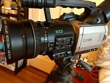 Panasonic AG-DVX100 Camcorder Century Wide Angle  Adapter bundle, 3 Batts, CHRGR