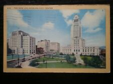 POSTCARD USA THE NEW LOS ANGELES CIVIC CENTER C1946