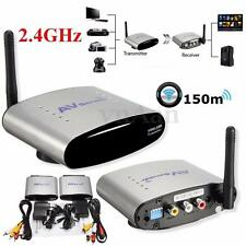 Wireless AV Sender STB TV Audio Video Transmitter Receiver 2.4GHz 150M PAL/NTSC