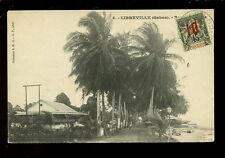 West Africa France Gabon LIBREVILLE early PPC used c1912