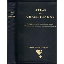 ATLAS des CHAMPIGNONS de Jean MANUEL Mycologie par Jacques MONTEGUT Noms Latins