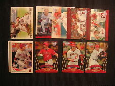 2013 TOPPS OPENING DAY LOS ANGELES ANGELS MASTER TEAM SET 17 CARDS  MIKE TROUT +