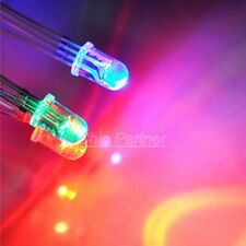 100pcs 5mm 4 pin RGB Common Anode LED Red Green Blue Diffused LEDs