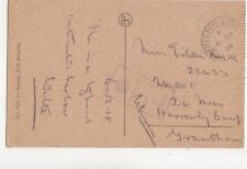 Miss Eileen Knox D6 Mess Harrowby Camp Grantham 1918 WW1 Active Service 727a