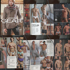 UNDERGEAR HOLIDAY 2013 PREVIEW LEATHER SPEEDOS PLAYGIRL MODELS DNA MEN INTL MALE