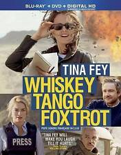 Whiskey Tango Foxtrot (Blu-ray / DVD, 2016, 2-Disc Set) Tina Fey