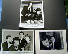 DAVID LYNCH (TWIN PEAKS) ORIG VINTAGE TV PHOTO LOT