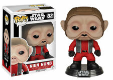 "STAR WARS THE FORCE EL DESPERTAR NIEN NUNB 3.75"" FIGURA DE VINILO POP"