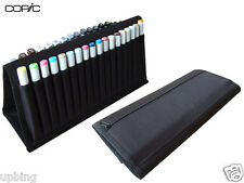 Copic Portable 36-Piece Storage Marker Pens Wallet Carrying Case Empty Box