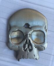 "AMERICAN SNIPER Punisher 3D Skull ""Face Shoot the F"" Challenge Kill Coin"