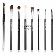 8PCS Eyeliner Eyeshading Blending Pencil brow Brush Makeup Eye Brushes Set TXSU