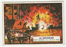 Topps A&BC Civil War News Gum Card Spain Spanish language printing #49