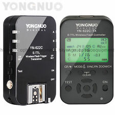 Yongnuo YN-622C Kit TTL Wireless Flash Transceiver Trigger + YN-622C-TX Controll
