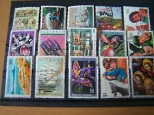 15 DIFFERENT AUSTRALIA HIGH VALS COMMEMS AND PICTORIALS,USED.NICE LOT.