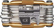 Crank Brothers M19 Multi Tool Bicycle Bike Gold Includes Tool Flask