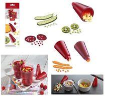 Triangle: Confetti : set 2 cutter per verdure-frutta  a cuore-fiore