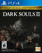 NEW Dark Souls III 3 (Sony PlayStation 4, 2016) Day One Edition The Third