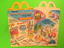 1990 McDonalds HM Box - Funny Fry Friends II - Ski Holiday