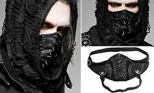 Masque gothique punk steampunk fetish bondage cuir spike laçages Punkrave homme