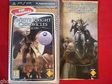 WHITE KNIGHT CHRONICLES PLAYSTATION PORTABLE WHITE KNIGHT CHRONICLES ORIGINS PSP