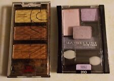 LOT OF 2 EYE SHADOW SETS NYC 792 AND MAYBELLINE 20Q  SURPLUS STORE  ITEMS