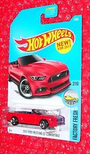 Hot Wheels Factory Fresh 2015 Ford Mustang GT Convertible #7 DTW81-D9B0A  A case
