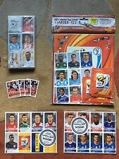 Panini FIFA World Cup 2010 WM South Africa complete set + starter-set + updates