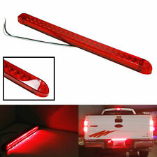 Submersible Red 23LED Light Bar Stop Turn Tail 3rd brake Light Truck Trailer 17""