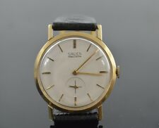 w351    14K  SOLID GOLD  MENS  GRUEN  HAND-WIND   VINTAGE  WRISTWATCH