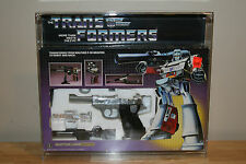 Transformers G1 Megatron Complete with Box Vintage 1984 Hasbro AFA CASE