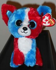 """Ty Beanie Boos - VALOR the 6"""" Cracker Barrel Exclusive Dog ~ 2017 NEW ~ IN HAND"""