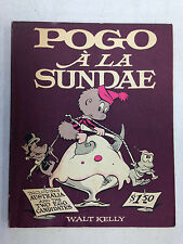 POGO A LA SUNDAE 1961 2ND PRINT SOFTCOVER BOOK WALT KELLY SIMON AND SCHUSTER
