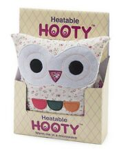 Intelex Hooty Owl Cream Floral Microwavable Soft Toys Bed Time Warmer Heatable
