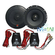 "AUTHENTIC MOREL® TEMPO 6C 6-1/2"" 2-Way CAR STEREO COAXIAL SPEAKERS 6.5"" PAIR NEW"