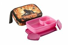 Signoraware Rock Dj Compact Lunch 3 containers box with Bag (P-11515)