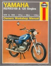 HAYNES SERVICE REPAIR MANUAL YAMAHA RS100 RXS100 RS125 RS125DX DX RS RXS 100 125