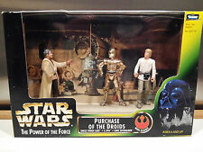 STAR WARS PURCHASE OF THE DROIDS, SKYWALKER, C-3PO, UNCLE OWEN LARS, FILM SET