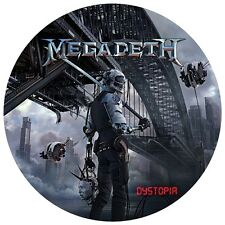 """Megadeth - Dystopia - 12"""" Picture Disc LP - 2016 - USA - NEW"""