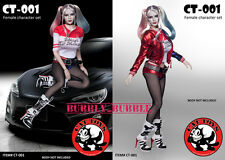 1/6 Harley Quinn Suicide Squad Sexy Clothing Set Phicen Hot Toys SHIP FROM USA