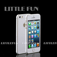 iPhone Case Sticker Carbon Sticker Adhesive foil for iPhone 5S White