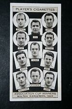 Bolton Wanderers   1929  FA Cup Winning Team  Original 1930's Photo Card  VGC