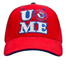 WWE JOHN CENA PERSEVERE RED BASEBALL CAP OFFICIAL NEW