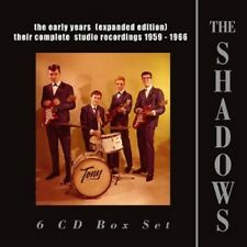 The Shadows-Early Years (Expanded Edition) 1959-1966,the 6 CD NUOVO