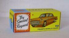 Repro Box Corgi Nr.231 Triumph Herald Coupe