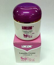 TOPO Lanolin Cream + Vitamin E 100g x 12. Australian Made