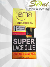 BMB SUPER HOLD GLUE FOR HAIR EXTENSION BOND /WEAVE/WEFT/TOUPEES & LACE WIG 0.5oz