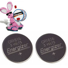 **NEW** 2x Energizer CR1616 Lithium Battery 3V Coin Cell ECR1616 Exp 2024