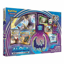 POKEMON lunala GX alola COLLECTION BOX: BOOSTER Pack + carte promo-Sole e Luna