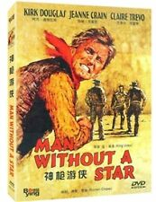 Man Without A Star All Region DVD Kirk Douglas, Jeanne Crain, Claire NEW UK R2