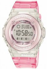 Casio bg1302-4er BABY-G ROSA Allarme, Data & resistente all'acqua orologio digitale donna
